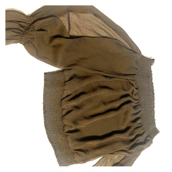 bebe Tops - Bebe Off Shoulder Blouse